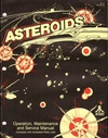 Asteroids classic arcade video game manual $45